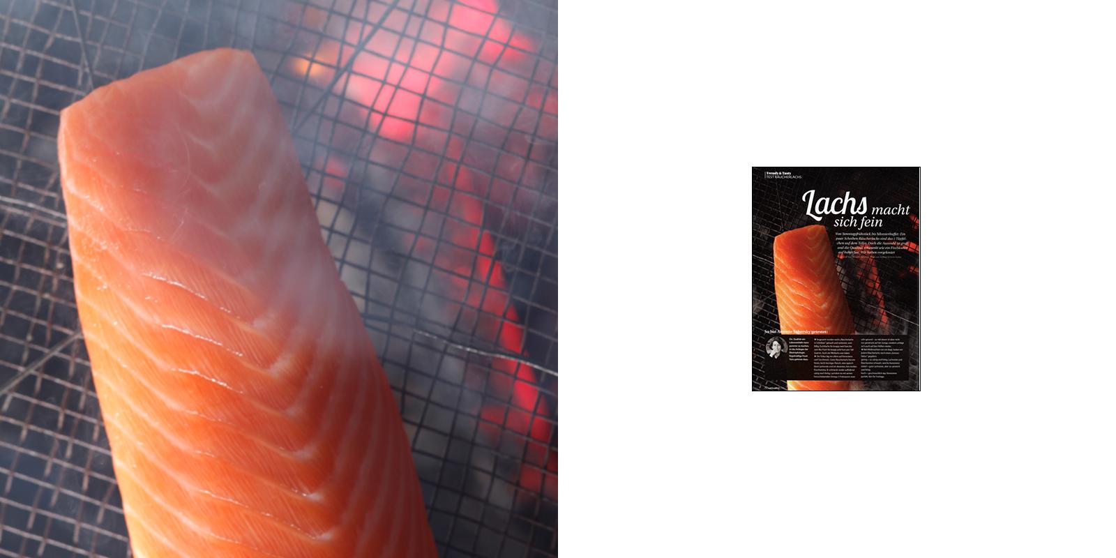 Victoria Huber Stuttgart Inszenierte Fotografie Foodfotografie Foodstyling Räucherlachs