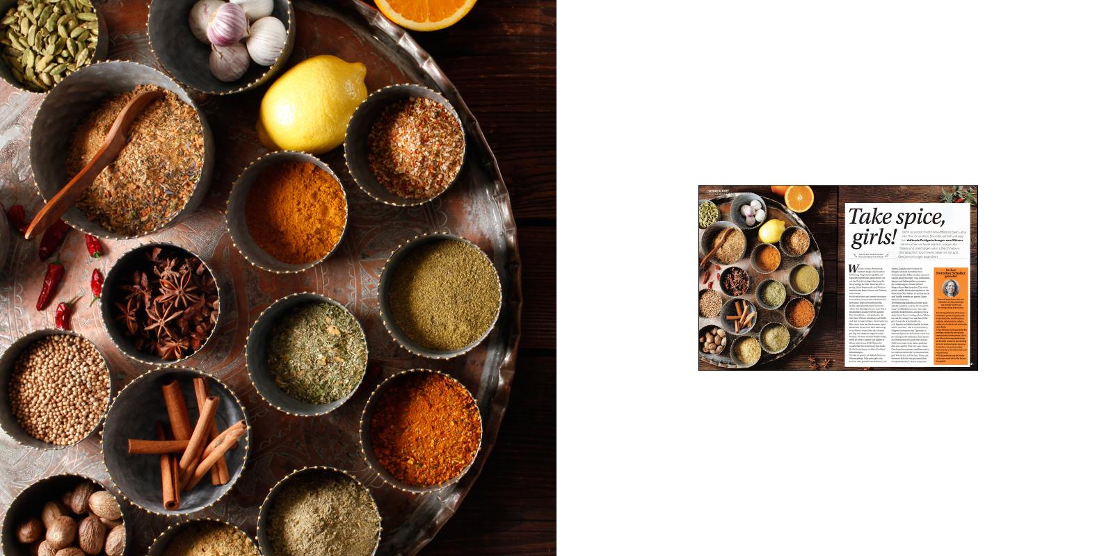 Victoria Huber Stuttgart Inszenierte Fotografie Foodfotografie Foodstyling Gewürze